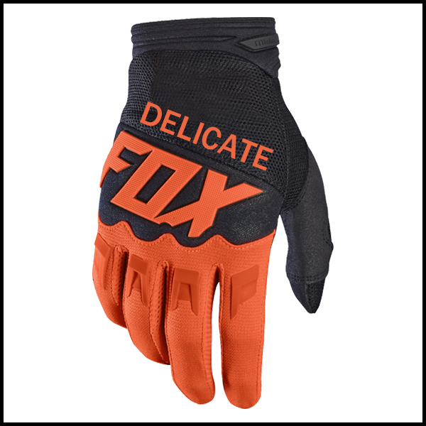 MX Racing Orange Handschuhe <font><b>Enduro</b></font> Racing Motocross Dirt Bike Radfahren Handschuhe image