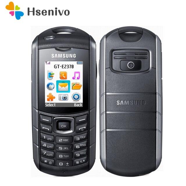 E2370 100% Original Unlocked E2370 Xcover GSM One Sim Card FM FM Radio Mobile Phone Free Shipping