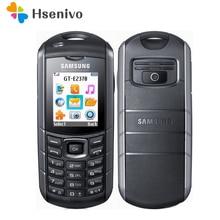 E2370 100% Original Unlocked E2370 Xcover GSM One Sim Card FM FM Radio Mobile