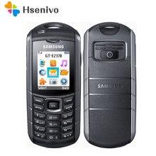 Samsung e2370 remodelado-original e2370 xcover gsm um cartão sim fm rádio celular frete grátis