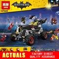 Nuevo 559 Unids Superhero Movie Series La Robbin Lepin 07045 Genuino del Conjunto de Bloques de Construcción Ladrillos Juguetes Móvil con 70905