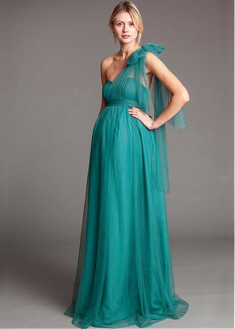 wejanedress 2017 Turquoise Maternity junior Bridesmaid Dresses ...