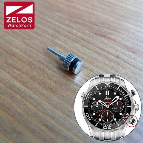 Relógio à Prova Empurrador para Omg Dwaterproof Água Botão Velocidademaster Cronógrafo Automático Homem Relógio Peças –