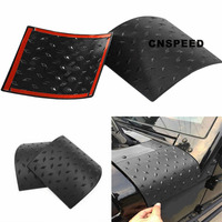CNSPEED 1 Pair Car Styling Hood Angle Wrap Covers Cowl Body Armor Front Cover Protective Fairing
