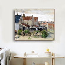 Village Scenery Famous Canvas Painting Calligraphy Poster and Prints Living Room House Wall Decor Art Home Decoration Picture