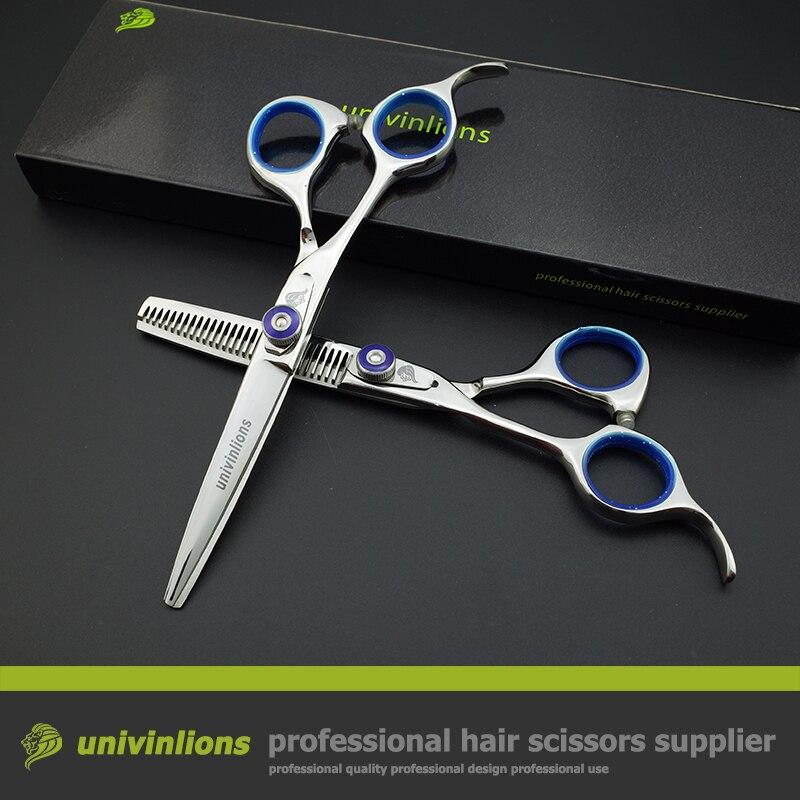 Tijeras de corte de cabello para zurdos