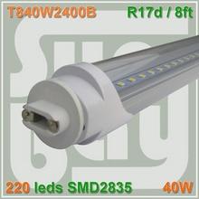 4pcs lot font b LED b font font b TUBE b font 2400MM 8ft 2 4m