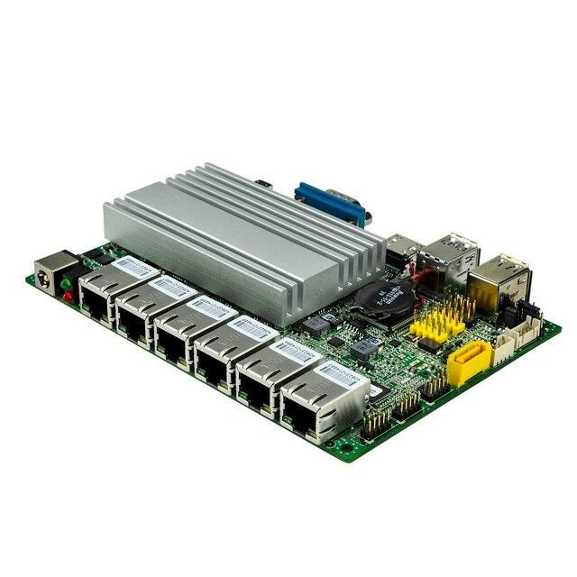 QOTOM pfSense Appliance Q500G6 с процессором Skylake Core i7-6500U Kabylake Core i7-7500U 6 гигабитная Сетевая интерфейсная карта безвентиляторный мини-ПК PFSense 3