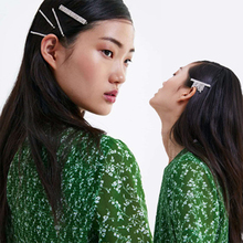 Get more info on the INS Newest Hairpin Rhinestone Hair Clips Metal Barrettes BB Headmade Hairpins Headwear Hair Accessories for Women Girls Fashion