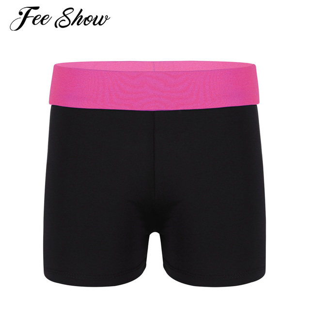 Children Girls Activewear Shorts Slim Fit Shorts Girls Summer Active Mini  Short Sexy Fashion Skinny Short for Sports Gymnastic 2a1c9a4e1ad