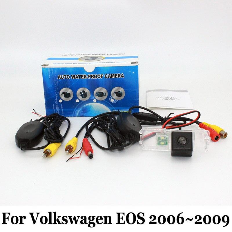 ⑤Заднего вида Камера для Volkswagen VW Eos 2006 ~ 2009 проводной ... a6832524d9b
