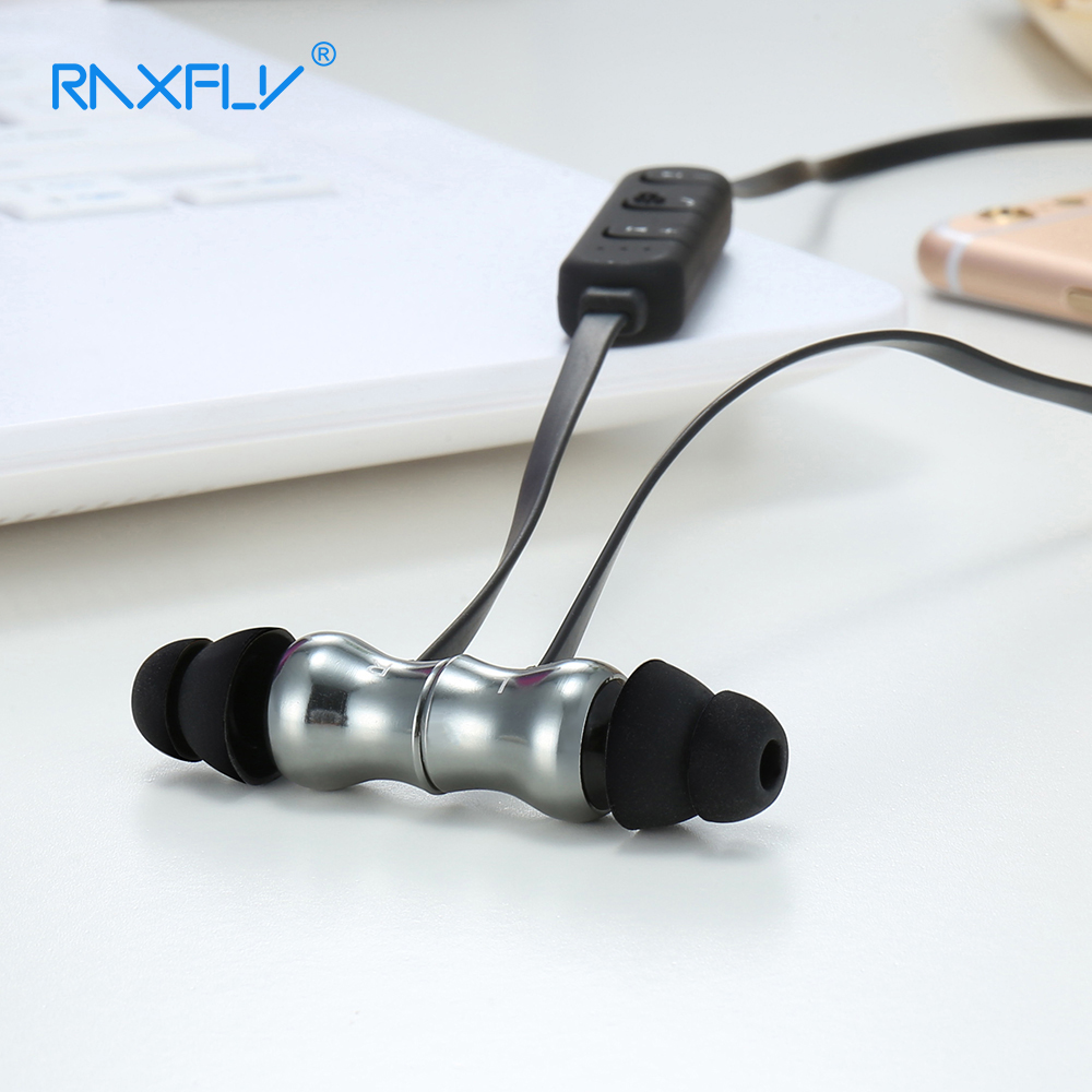 RAXFLY D3 Bluetooth In-ear Earphone Built-in Microphone Stereo Sound Wireless Earpiece Headset for Android iOS Cellphone Earbuds 2 in 1 cellphone