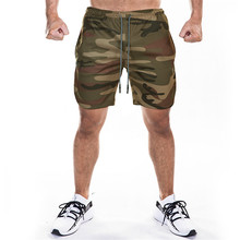 DERMSPE Summer 2019 new single-layer fitness, fitness, breathable, quick dry, short gym, men's casual jogging shorts