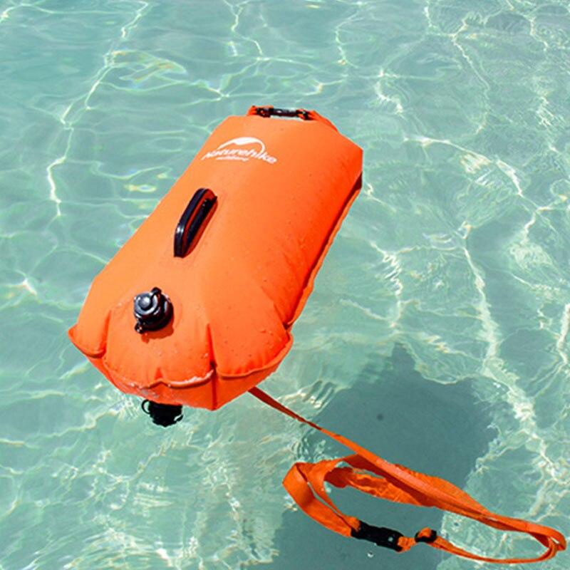 Naturetrekking bouée de natation flotteur sac sec avec ceinture de natation remorquage imperméable plage Rafting kayak Sports sauvetage dérive sac