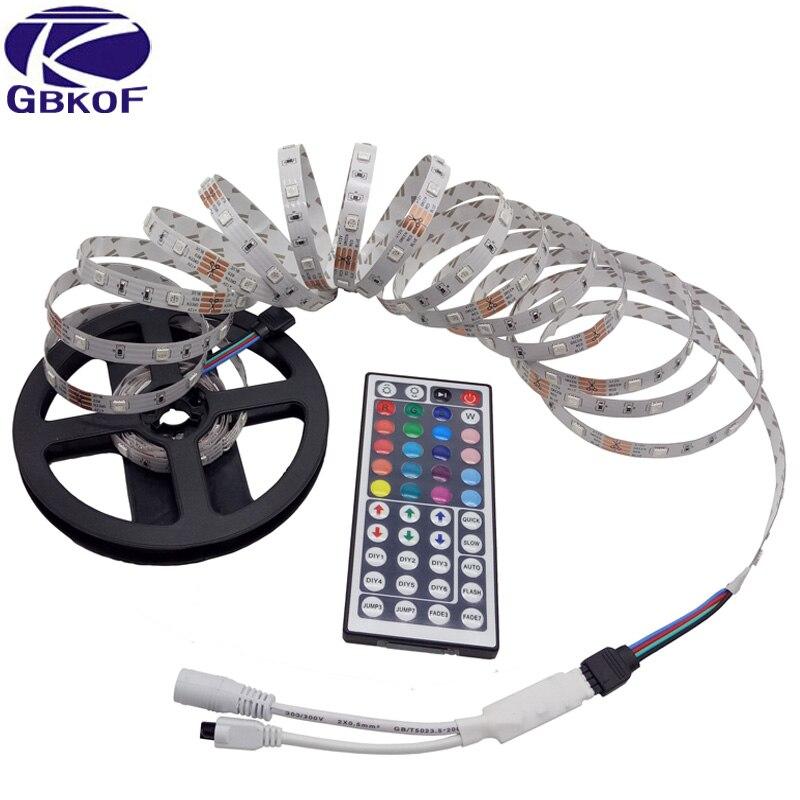 Tiras de Led led flexível luz À prova Rgb Controller : 44key ir Remote Controller