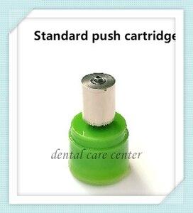 2pcs torque push handpiece cartridge for nsk pana air dental turbine air rotor with ceramic bearing