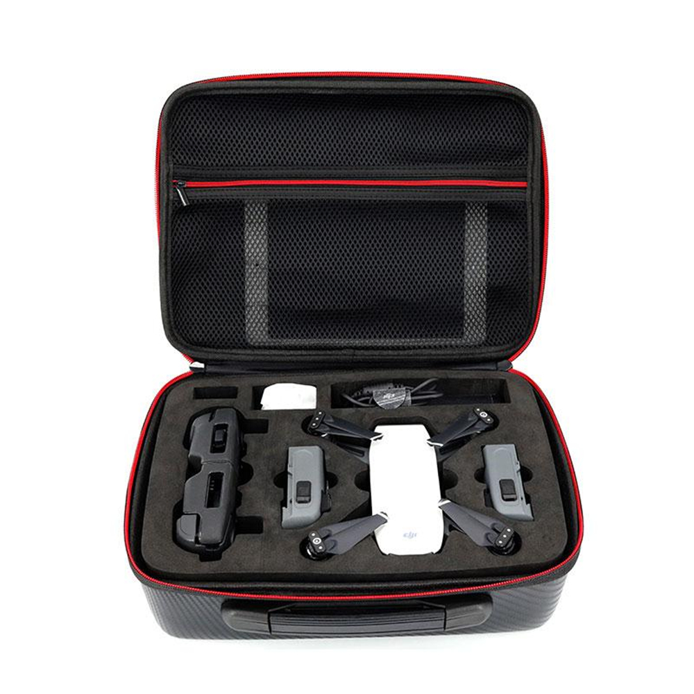 Cewaal Portable Waterproof Travel EVA Storage Handbag Protector Bag for DJI Spark Drone Quadcopter Helicopter Box Carry Case