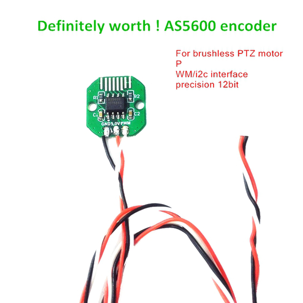 New 1Pcs AS5600 Absolute Value Encoder PWM/I2C Port Precision 12 Bit Brushless Gimbal Motor Encoder