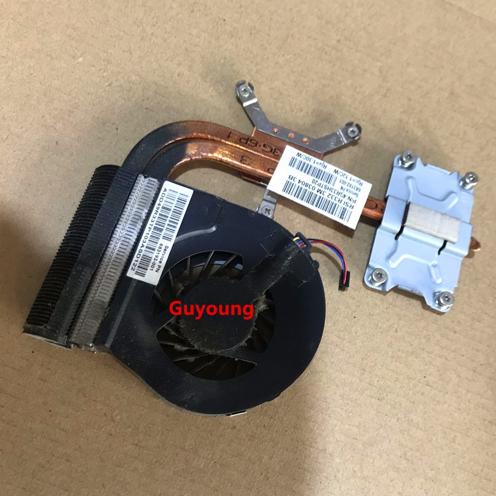 For HP G4 G6 G7 G4-2000 G7-2000 G6-2000 CPU Fan Cooling Heatsink 683028-001 683192-001 683193-001 680550-001 USB Cooler image