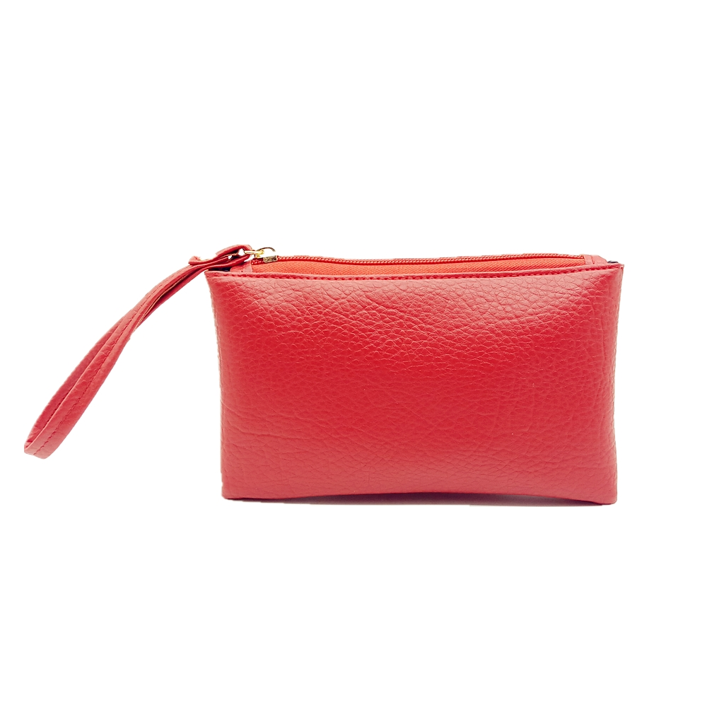 2018 Red Color Men Women Wallets PU Leather Litchi Pattern Bag Zipper Clutch Coin Purse Phone Wristlet Portable Handbag Shopping pu leather backpack litchi pattern student bag