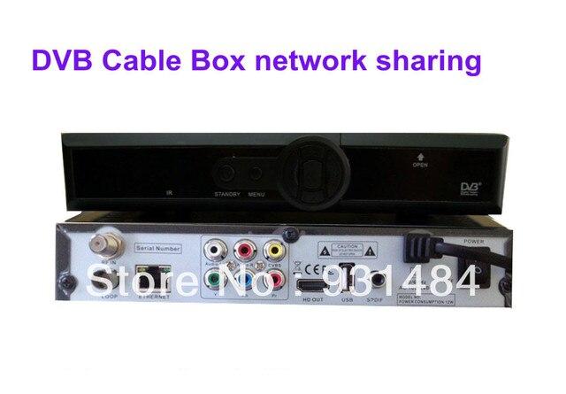 Excellent DVB-C box cable receiver hd  Q5 pvr CCCam Newcamd network sharing 5 pcs/lot