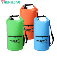 10L 20L Outdoor Diving Swimming Compression Storage Waterproof Bag Dry Bag Fashion Men Women Surfing Backpacks For Rafting Kayak цена