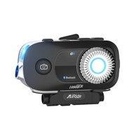 AiRide G5 мотоцикл Bluetooth шлем гарнитура 4 всадники группа домофон с видео регистраторы камера Голосовая команда Bluetooth 4,1