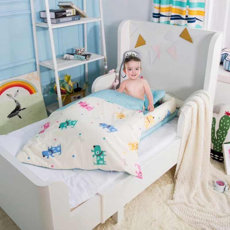 Детский бампер для новорожденных Детская кроватка набор детская складная корзина спальная кроватка кровать для путешествий складной бампер с матрасом