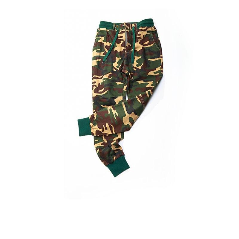 Nouveau coton pantalon décontracté homme nouveau Camouflage Slim Fit armée Camouflage pantalon crayon Camo pantalon Hip Hop pantalons de survêtement militaire hommes