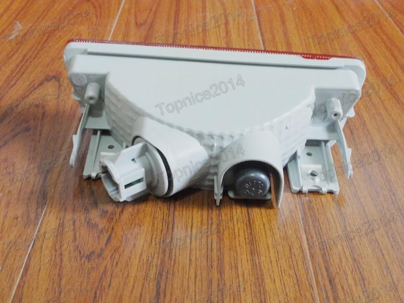 1pcs Nova crvena svjetiljka za maglu za stražnji branik za NISSAN - Svjetla automobila - Foto 2