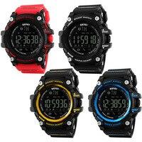 2018 venta Caliente negro inteligente de edición limitada hombres reloj digital de lujo hombre reloj blurtooth 3D podómetro deporte al aire libre relojes