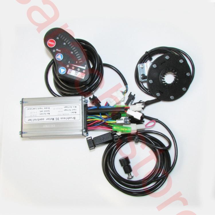Фотография 36V electric bike kit , electric bike display ,electric bike conversion kit ,electric bicycle motor kit