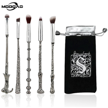 MODOAO New Fashion Unicorn Foundation Face Powder Eye Shadow Eyeliner Eyelash Lip Brush Cosmetic Tools Make Up Brush