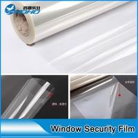 4mil toptan 1 m x 30 m houseroom için güvenlik film şeffaf cam koruyucu filmi pencere camı paramparça geçirmez temizle folyo
