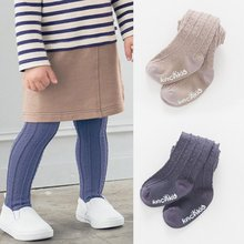 Infant Baby Girl Combed Cotton Tights Newborn baby girl tights stockings Warm Winter Pants