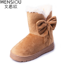 New Style Women Winter Shoes Soft Comfortable Cotton Snow Boots Hot High Quality Female Footwear Ankle Boots Ladies SAT905