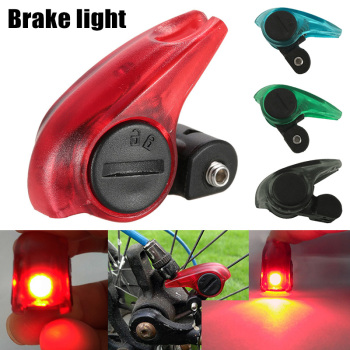 1pcs Bicycle Brake Caution Light Mini High Brightness LED Red Lamp Beads Waterproof YS-BUY image