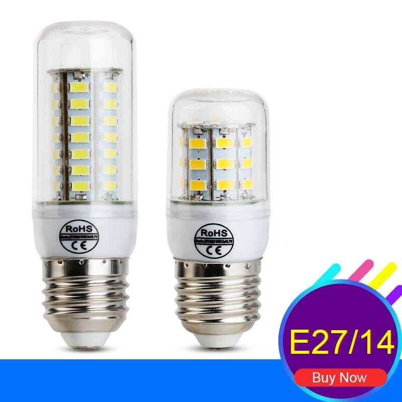 Ampolleta font b Led b font 220V E27 font b LED b font Bulb Lamp 24LEDs
