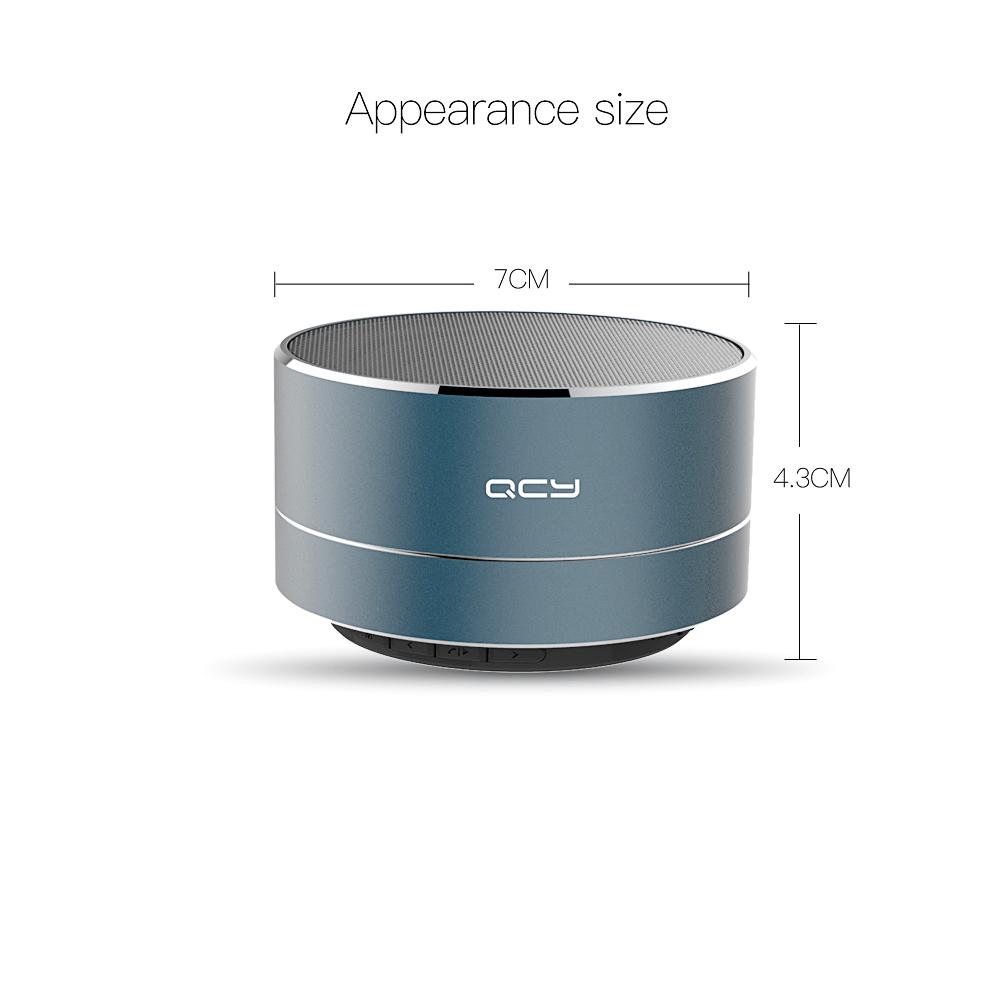 geekoplanet.com - Portable Wireless Bluetooth Speaker With Mic, Tf Card, FM Radio, Aux & MP3 Music Player