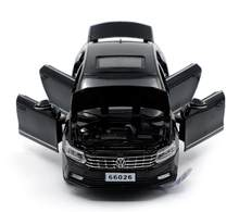 1:32 15cm Volkswagen Passat sports car vehicle alloy model acousto-optic pull back boy toy home collection(China)
