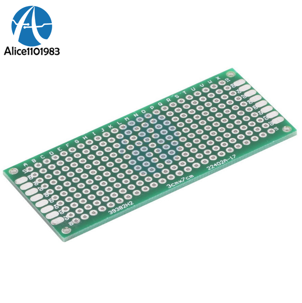 1 Set Of PCB Board Tool Double-sided 20pcs Kit Strip 2.54mm Universal Prototype