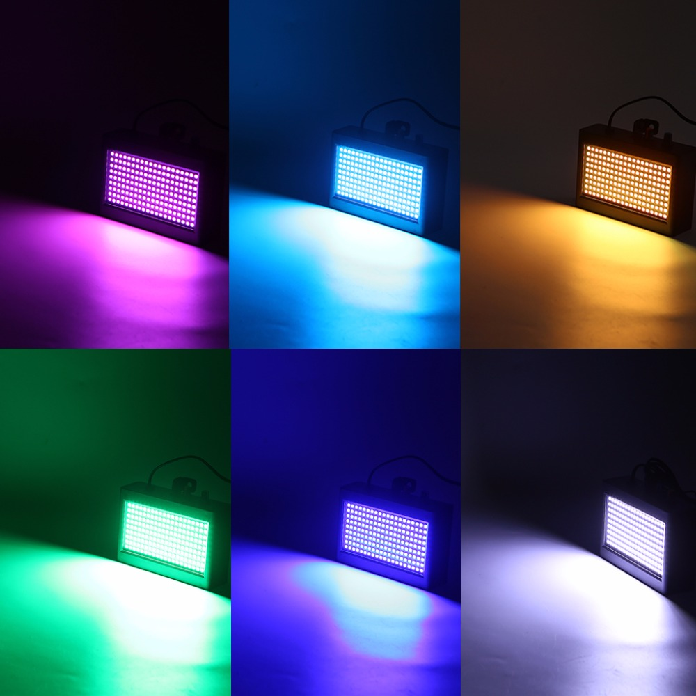 Hngchoige Pulse Strobe Light 108 Led Auto Sound Activated Mode Adjustable Flash Speed Control 25w In Stage Lighting Effect From Lights On