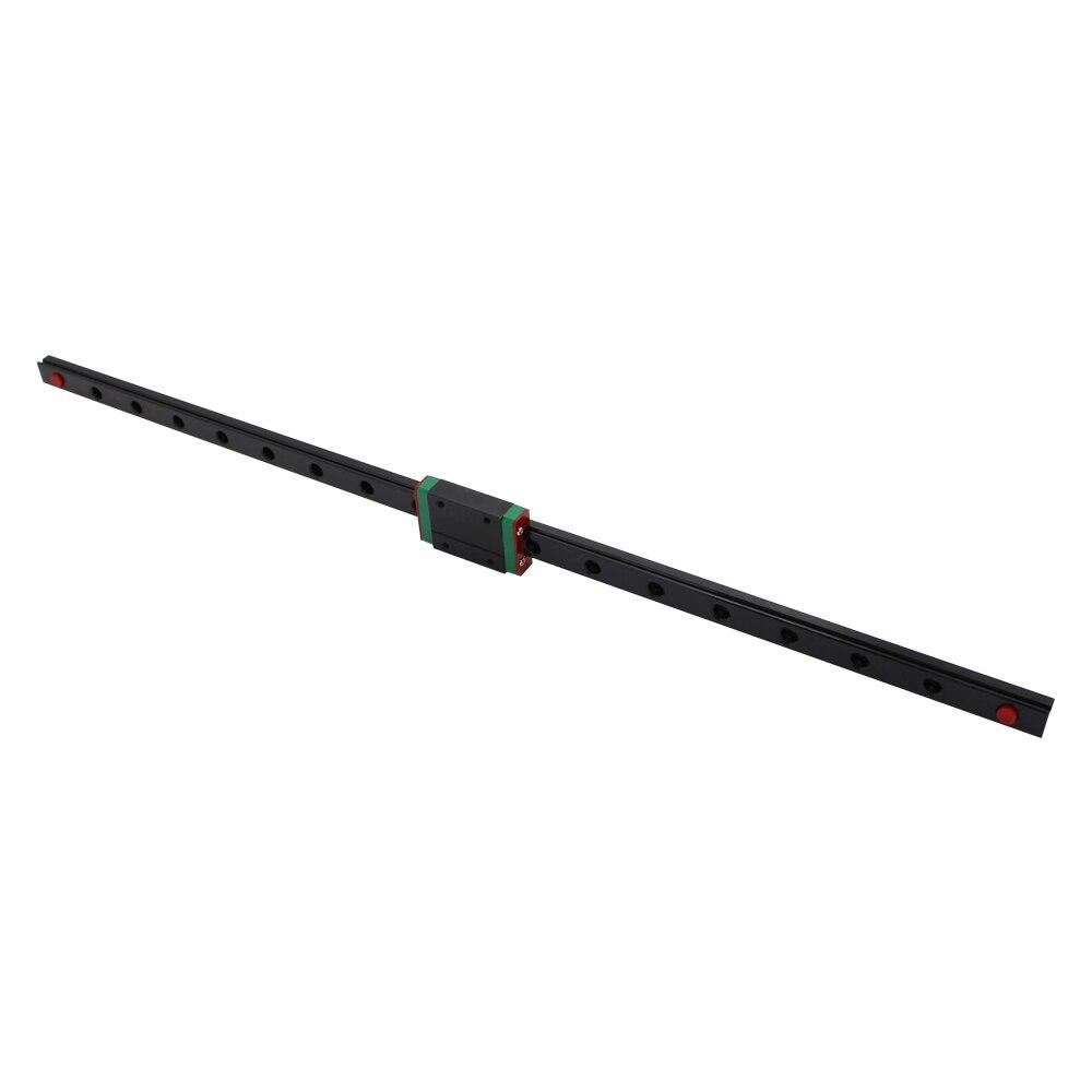 MGN12 12mm largeur 300mm/400mm/450mm Longueur rail slide linéaire + MGN12H transport CNC pour ANYCUBIC 3D Imprimante X Y Z axe pièces