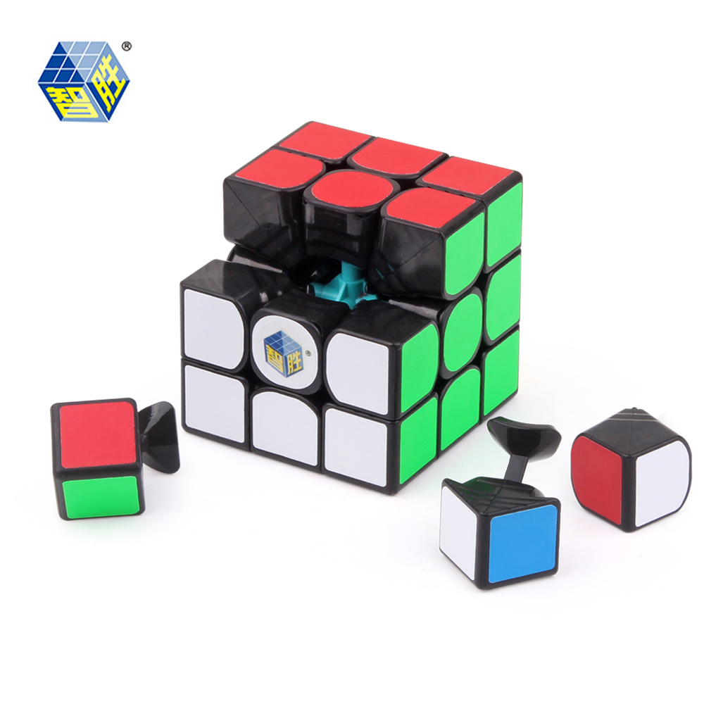 YUXIN ZHISHENG poco de magia cubo de 3x3x3 cubo rompecabezas juguetes educativos cubo mágico