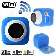 Free shipping!5MP WiFi Mini Sport Action Camera Camcorder HD 720P Mini DV Cam Waterproof IPX4