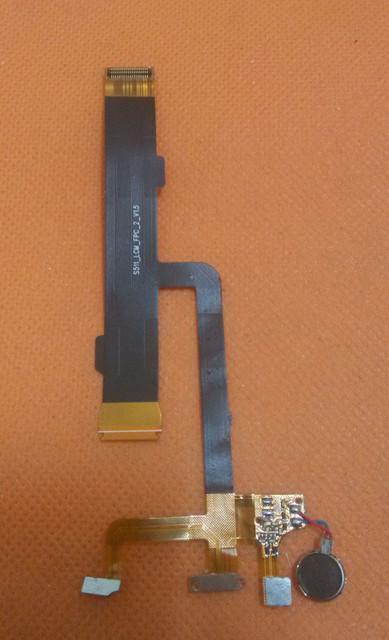 """Usado Original Mic Microfone + Placa de vibração do motor Para Ulefone Paris 5.0 """"HD 1280x720 MTK6753 Núcleo octa frete Grátis"""