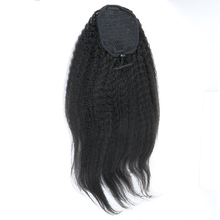Brazilian Kinky Straight Ponytail Extensions Clip Ins Natural Color 10-20 inches 100% Human Hair Sunny Queen Hair Products