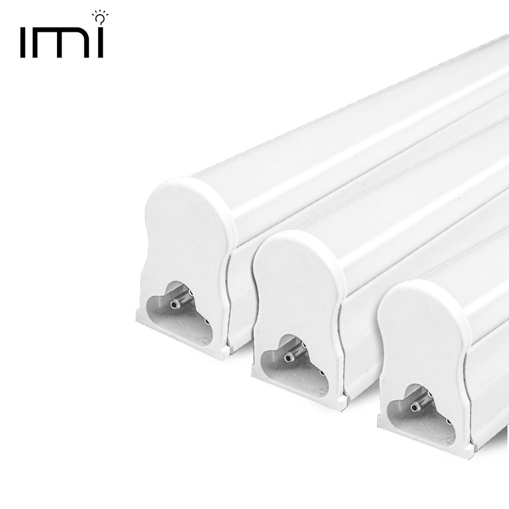 LED Tube T5 Fluorescent Bulb Light Integrated T8 Wall Lamp Lampada 30CM 60CM 1ft 2ft 6W 10W Cold Warm White 110V 220V 240V