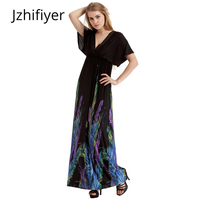 22cea5579388 Dress Women Holiday Oversized Fat Maxi Dress Feather Onepiece Sexy Pareo  Beach Sarong V Neck Backless