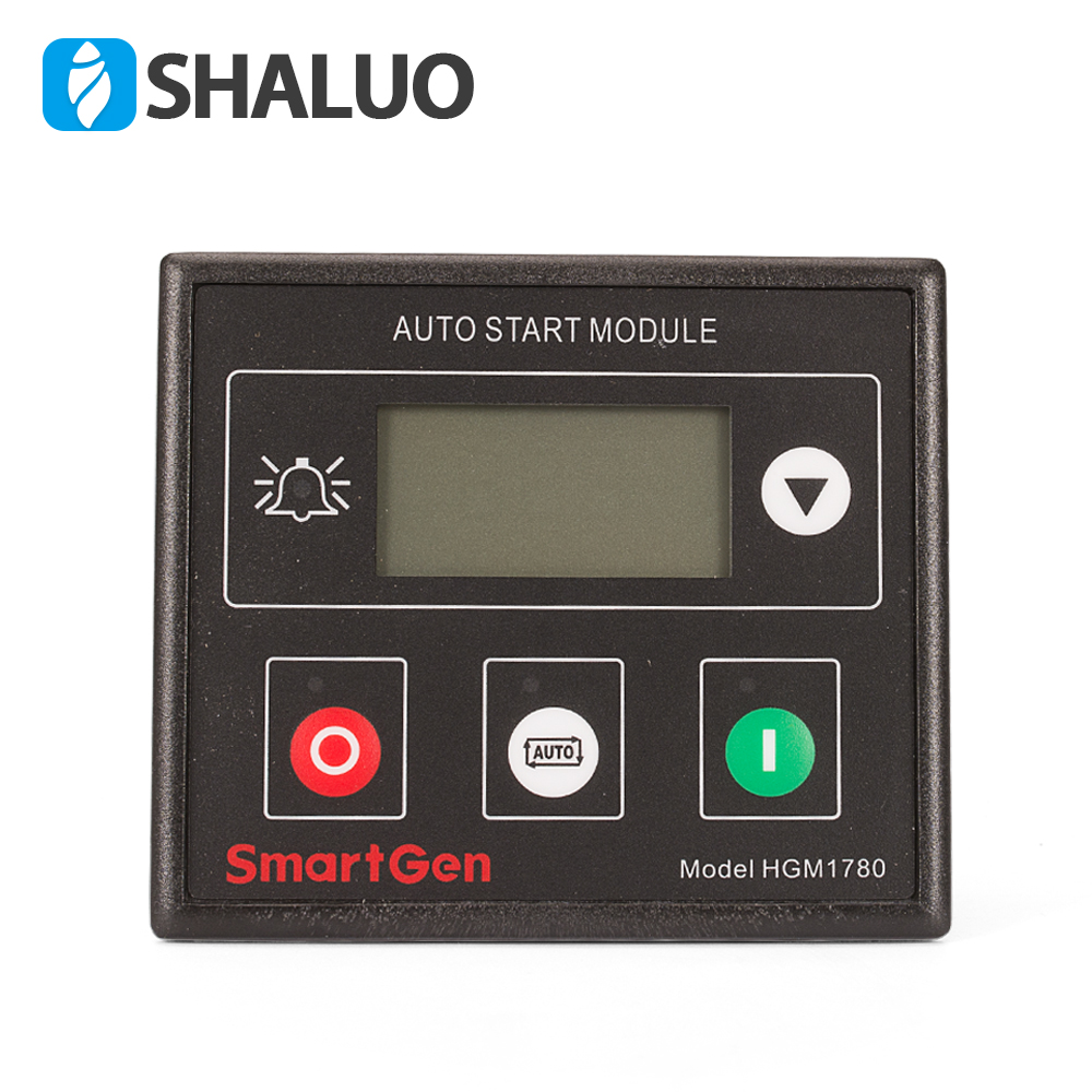 HGM1780 auto start pannel module three phase AC Genset controller power diesel gasoline generator electronic circuit board new smartgen controller genset controller generator controller hgm1770